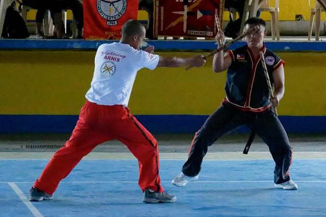 Filipino Eskrima practitioners