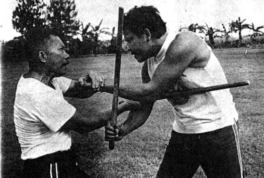 arnis sparring