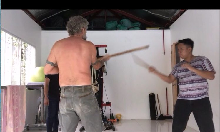 Basic Striking and Arnis Defense Training with Bart Reil