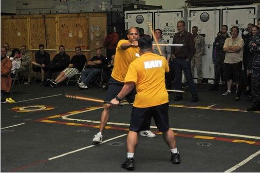 arnis training